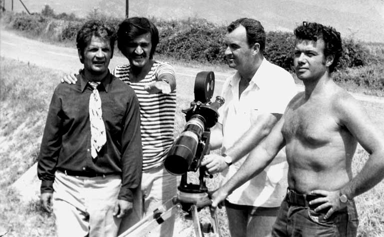 "Filming of ""99"" with Dzadzev and Samuilovski"