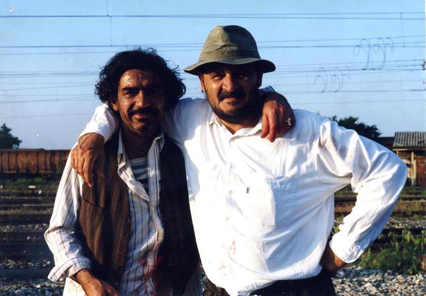 Stole Popov and Miki Manojlovic